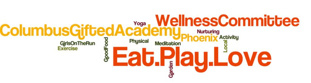 Wellness Committee Wordle big